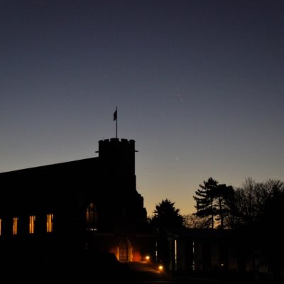 Mercury over Bedford School - Linton and Yvette Guise, 02-12-19