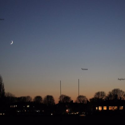 Saturn, Venus and Jupiter - Linton & Yvette Guise, 29-11-19