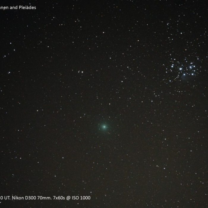 Comet 46P by Kevin Earp