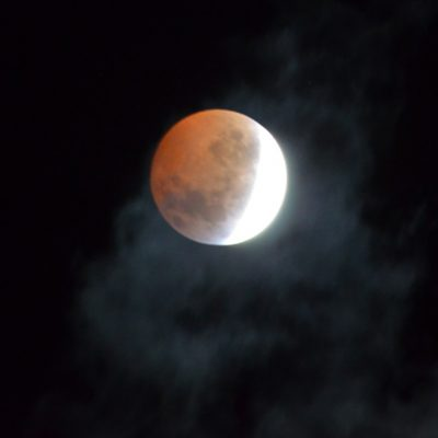 Blood Moon Eclipse by Bob Wickens