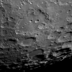 Crater Clavius by Dave Eagle