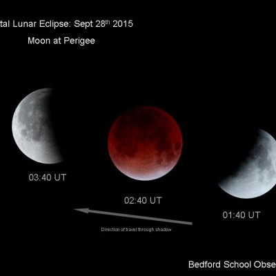 Total lunar eclipse September 28th by Linton Guise