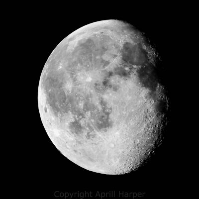 Stacked moon image by Aprill Harper