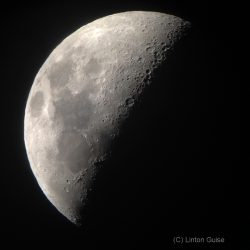 The Moon from 18th November 2015, by Linton Guise