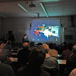 January 2012 members evening talk, by Peter Truscott