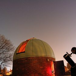 The Piazzi Smyth Observatory, observing at Spring Equinox by Peter Truscott